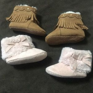 Other - Baby boot soft bottom bundle
